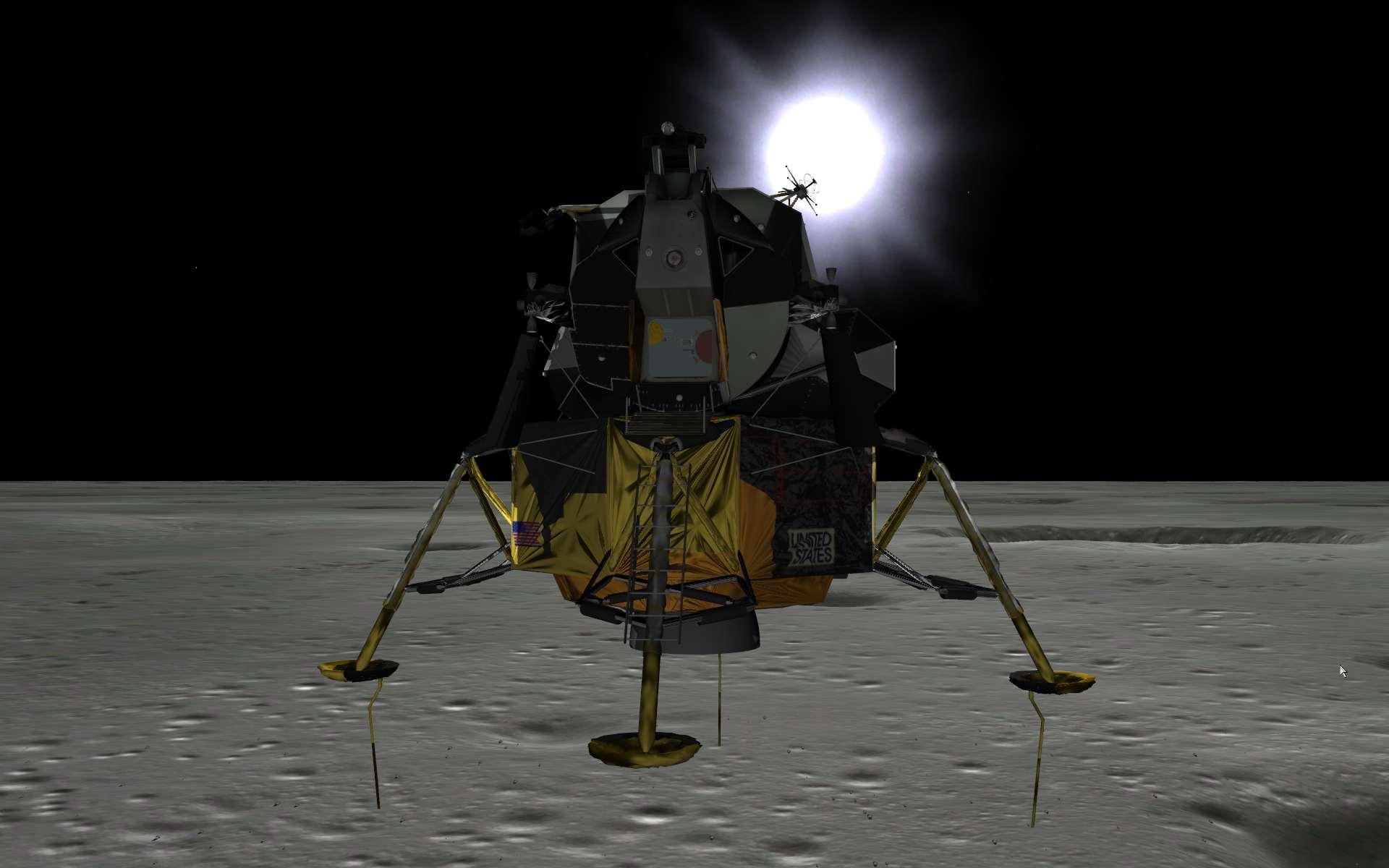 eagle lander 3d